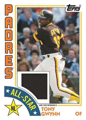 2019 Topps Series 2 Baseball 1984 Topps Baseball Relic