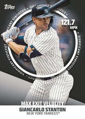 2019 Topps Series 2 Baseball Significant Statistics