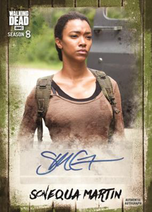 2019 Topps Walking Dead Autograph Collection Sonequa Martin