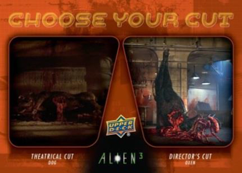 2019 Upper Deck Alien 3 Choose Your Cut