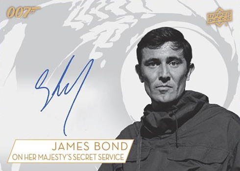 2019 Upper Deck James Bond Collection Bounty Autograph