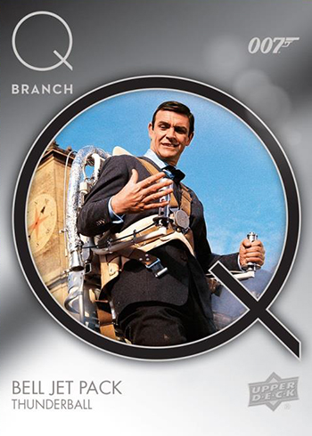 2019 Upper Deck James Bond Collection Q-Branch