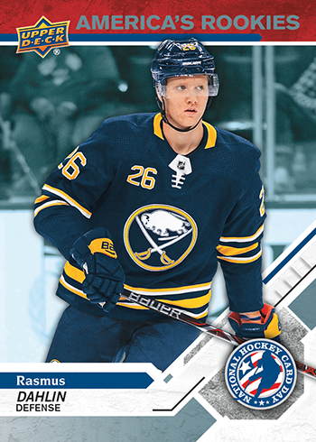 2019 Upper Deck National Hockey Card Day USA Americas Rookies Rasmus Dahlin
