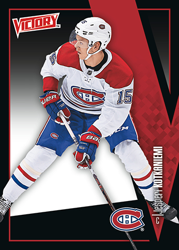 2019 Upper Deck National Hockey Card Day Victory Black Jesperi Kotkaniemi