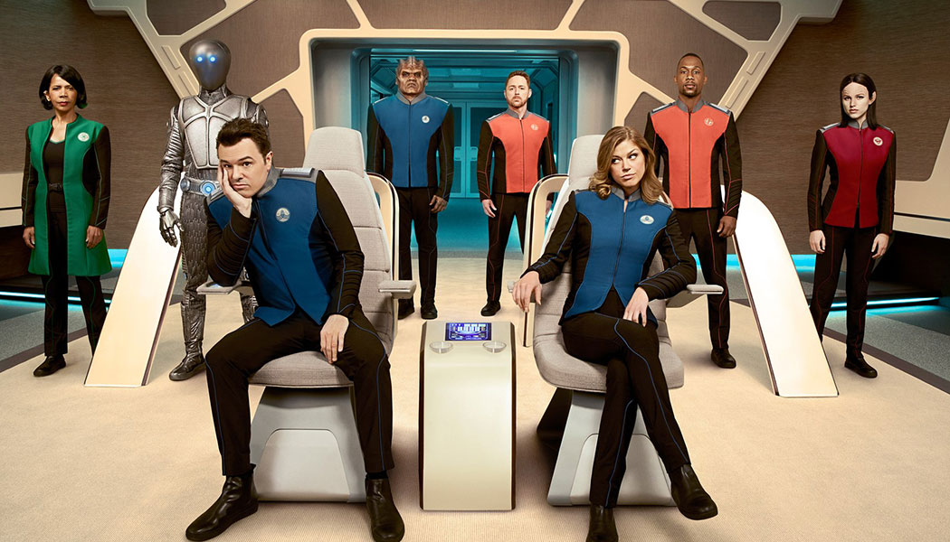 The Orville Season One Promo Card P1 General Release