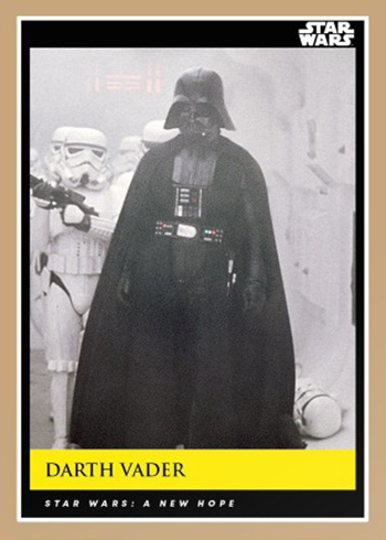 2018-19 Topps Star Wars Galactic Moments 1 Darth Vader
