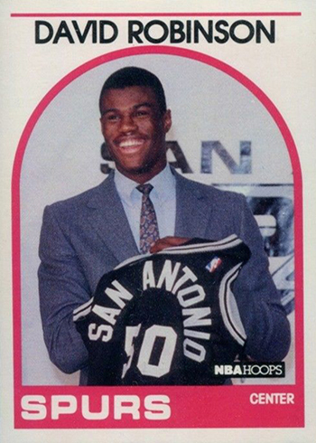 1989-90 Hoops 138 David Robinson RC