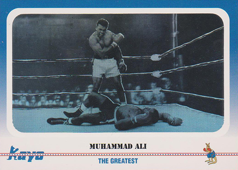 1991 Kayo Muhammad Ali Hologram