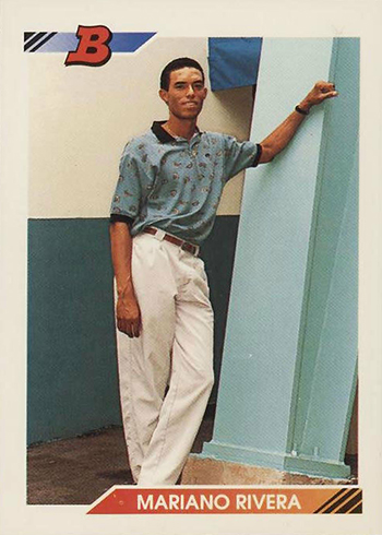 1992 Bowman Mariano Rivera Rookie Card