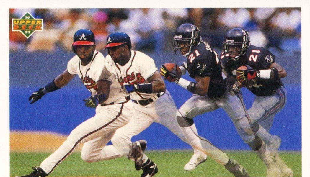 The Two Sport Cards Of Deion Sanders Beckett Pricing