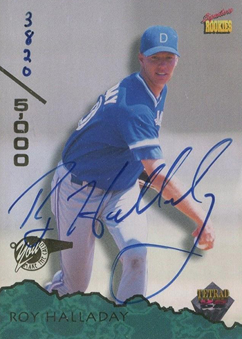 1995 Signature Rookies Tetrad Roy Halladay Autograph
