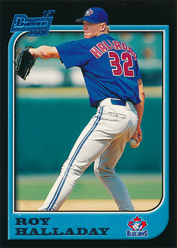 1997 Bowman Roy Halladay Rookie Card
