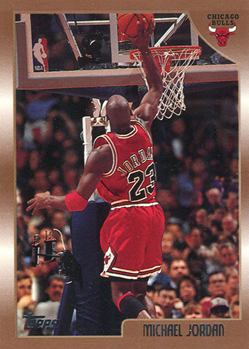 1998-99 Topps Basketball Michael Jordan