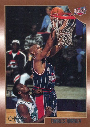 1998-99 Topps Basketball O-Pee-Chee Charles Barkley
