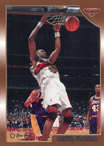 1998-99 Topps Basketball O-Pee-Chee Dikembe Mutombo