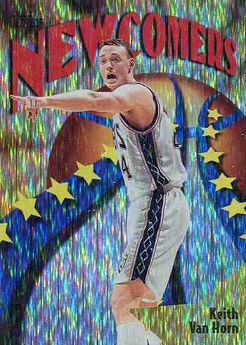 1998-99 Topps Basketball Seasons Best Keith Van Horn
