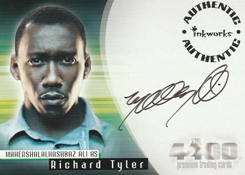 2007 Inkworks 4400 Season 2 Autographs Mahershala Ali