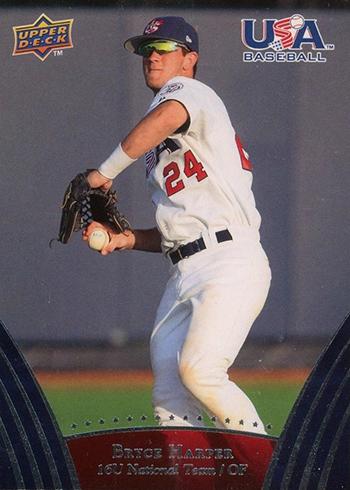 2008-09 Upper Deck USA Baseball Bryce Harper