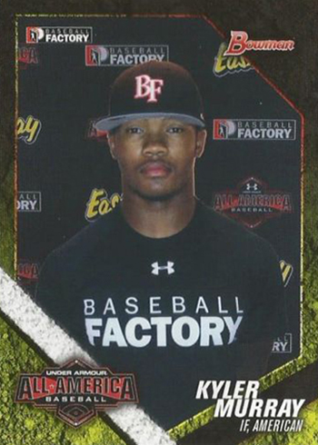 2014 Bowman Under Armour All-American Kyler Murray
