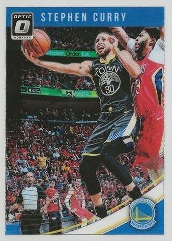 2018-19 Donruss Optic Basketball Base Stephen Curry