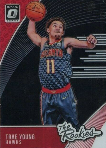 2018-19 Donruss Optic Basketball The Rookies Trae Young