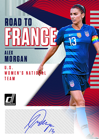 2018-19 Donruss Soccer Road to France