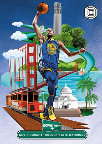 2018-19 Panini Cornerstones Basketball Downtown
