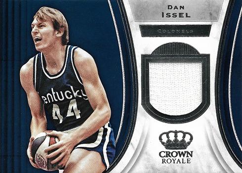2018-19 Panini Crown Royale Basketball Jerseys Dan Issel