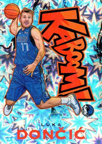 2018-19 Panini Crown Royale Basketball Kaboom Luka Doncic