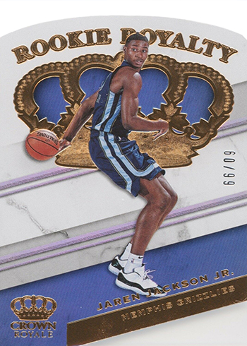 2018-19 Panini Crown Royale Basketball Rookie Royalty Jaren Jackson Jr