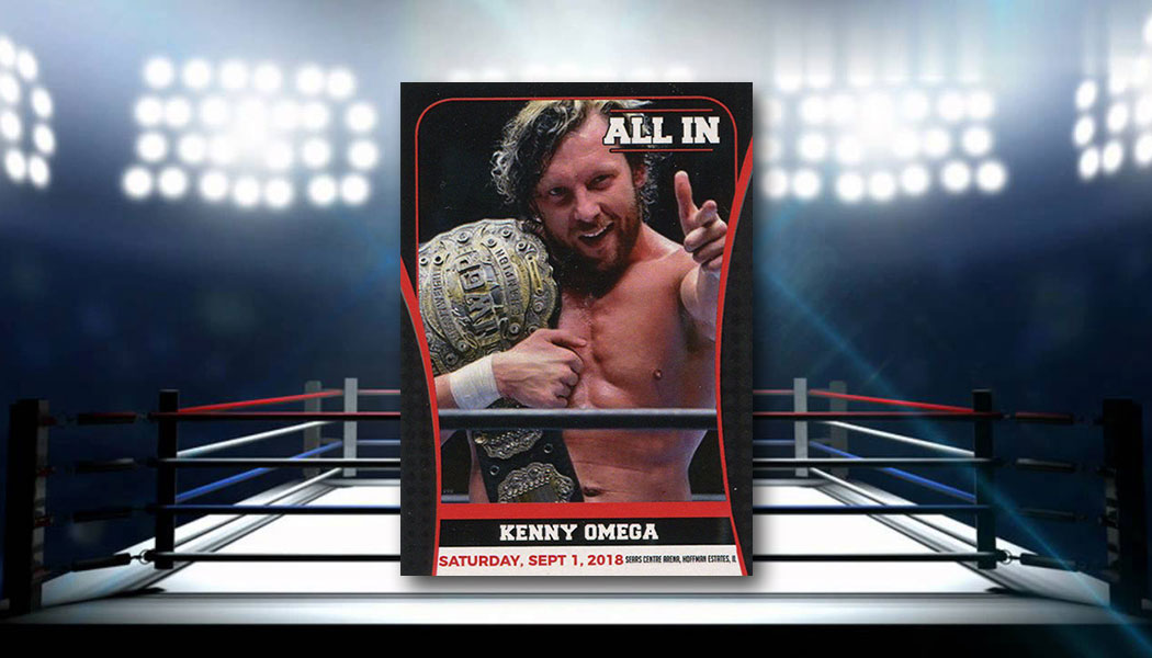 Kenny Omega Wrestling Cards on the Rise