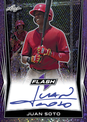 2018 Leaf Flash Baseball Juan Soto