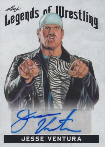 2018 Leaf Legends of Wrestling Jesse Ventura Autograph