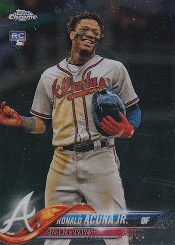 superior quality 801ef b57a9 Ronald Acuna Jr. Rookie Card and Prospect Card Highlights