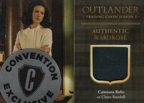 2019 Cryptozoic Outlander Season 3 Convention Exclusive Wardrobe Card Ce3 Claire