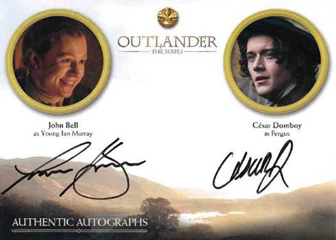 Outlander Season 3 KEY ART PUZZLE Trading Card Insert Z2 2019