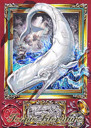 2019 Iconic Creations Iconic Literature Moby Dick
