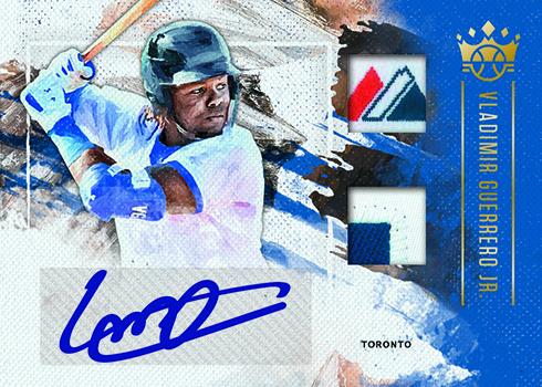 2019 Panini Diamond Kings Baseball DK Materials Signatures