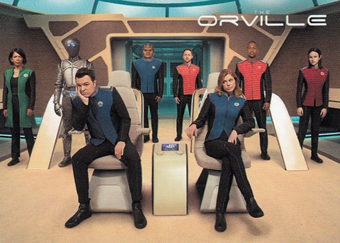 2019 Rittenhouse The Orville Season 1 Promo Cards P1