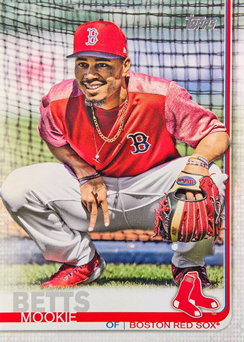 2019 Topps Series 1 Baseball Variations Mookie Betts