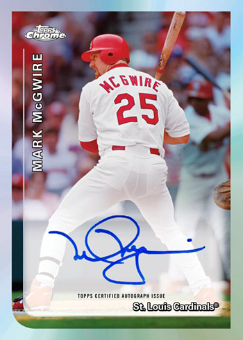 2019 Topps Chrome Baseball 1999 Topps Baseball Autographs