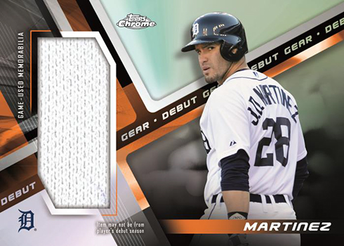 2019 Topps Chrome Baseball Debut Gear