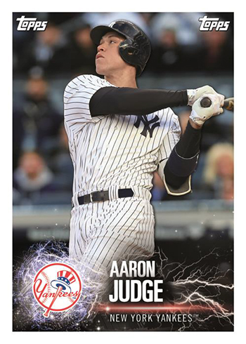2019 Topps MLB Sticker Collection Aaron Judge