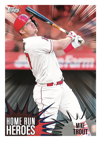 2019 Topps MLB Sticker Collection Home Run Heroes