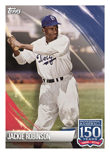 2019 Topps MLB Sticker Collection Jackie Robinson