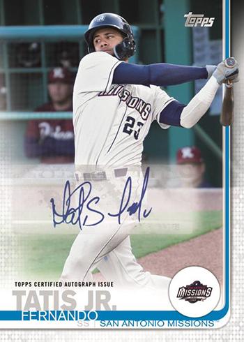 2019 Topps Pro Debut Baseball Autograph