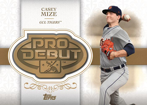 2019 Topps Pro Debut Baseball Distinguished Debut Medallion