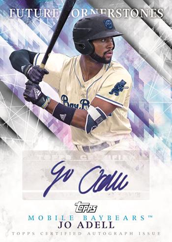 2019 Topps Pro Debut Baseball Future Cornerstones Autographs