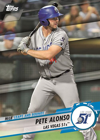 2019 Topps Pro Debut Baseball MiLB Leaps and Bounds