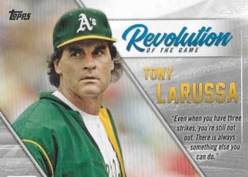 2019 Topps Series 1 Baseball Revolution of the Game Tony LaRussa